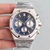 Silberblau weiß