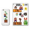 16Pcs Lot smart mario stickers posters mobile phone stickers for kids rooms home decor sticker on laptop skateboard luggage sticker