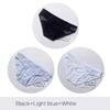 أسود أزرق أبيض