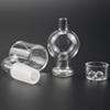100% Quartz Banger 10mm 14mm 18mm Domeless Nail Female Male 45 90 Degrees Quartz Banger Nail with quartz insert bowl and Terp Pearl.