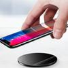 10W Qi Wireless Charger For iPhone Xr max 8 Glass Fast Wirless Wireless Charging Pad For Samsung Galaxy S9 S8 Plus S7 Note 8 Retail linkr