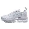 2018 New Vapormax TN Plus Olive In Metallic White Silver Colorways Shoes Men's Shoes For Running Male Shoe Pack Triple Black Mens Shoes