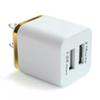 ITTA Dual USB Wall Charging Charger 2 Ports Metal Charger Plug 2.1A + 1A Power Adapter Plug for Iphone Samsung Ipad Any Cellphone