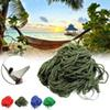 Style Mesh Nylon Hammock Hanging Outdoor Garden Swing Sleeping Bed Swing Strong Hammock for Camping   Hiking   B