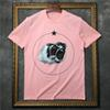 2019 new summer men Designer Brand t shirt clothing short sleeve t-shirt Roar orangutan monkey circle star tshirt unsex tee cotton tops