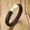 Brown-Gold Clasp -Message For Length