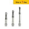 CE3 Bud Cartridge Glass Tank oil Vaporizer WAX Atomizer 510 Dual Coil CE3 Vapor Mini Tank For O Pen Touch Battery