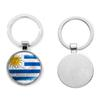 2018 Russia World Cup Football Keychain Football Match Key Buckle Metal Aluminum Alloy Country Flag Souvenir Gift