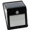 DHL shipping 20leds solar LED wall light landscape yard solar wall lighting downlight solar panel operated Ip65 waterproof outdoor lights