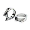 32*26*7mm 1pcs New Spikes knuckle Cat Ear shape Ring Pendant Outdoor Survival Tactical Self-