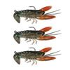 Fishing Lure Bait 8cm Soft Fake Crawfish Shrimp Lobster Swimbait Claw Bait Isca Artificial Lure Bait Pesca