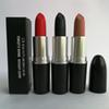 Top quality Brand matte lipstick s RUSSIAN RED HONEY LOVE RUBY WOO KINDA SEXY M Makeup Luster Retro Lipsticks Sexy Lipsticks free shipping