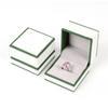 Blanco caja del anillo
