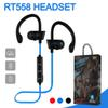 Bluetooth Headphones RT558 Sweatproof Wireless Earbuds Running Bass HiFi Stereo In-Ear Earphones Noise Cancelling Headsets With Package