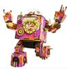 Robotime DIY Action & Toy Figure Steampunk Rotatable Robot Wooden Clockwork Music Box Perfect Gifts For Friends Children