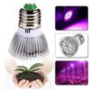 E27 GU10 LED Grow Bulb Lamp 18W 12Red 6Blue LED Plant Light Lamp Hydroponic Grow Light Bulbs Flower Garden Greenhouse lamp