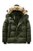 Canada Men's Brand European Size 90% Goose Solid Color Parker Coat Down Jacket Men's Outdoor Sports Cold Warm Down Jacket