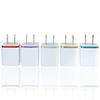 5V 2.1+1A Double USB AC Travel US Wall Charger Plug Dual Charger For Samsung Galaxy HTC Smart Phone Adapter High quality dhl