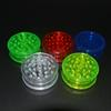 3layer plastic herb grinder 60mm for smoke detectors pipe acrylic grinders for twisty glass blunt smoking Accessories GGA1114