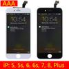 For iPhone 6 iPhone 6 Plus LCD Display Screen Replacement Touch Digitizer with Frame Full Assembly for iPhone 5 5s