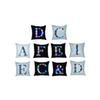 26 Letters LED Light Luminous Pillow Case Letters Pillow Cove Sofa Car Decor Cushion Home Hotel Throw Pillowcase 45*45cm