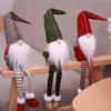 Christmas Decorations Long beard Santa Claus Doll Toys Artificial Dolls Party Christmas Gift Home Decor Festive Supplies Drop Ship 110216