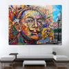 1 Pcs Modern Decorative Pictures Portrait Street Art Picture Home Decor Canvas Print No Frame Canvas