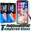 Tempered Glass for iphone 6 6s 7 7 plus 8 plus X XR XS XS Max Screen Protector for Samsung S6 S7 Note 8 S8 S9