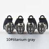 10 # grigio titanio