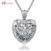 100% Real 925 Sterling Silver Pendant For Women Gifts Vintage Unique Design Cubic Zircon Crystal CZ Stone Necklace Pendant Party