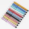 Free Shipping Capacitive screen Metal stylus touch pen with clip for iphone 6 plus  5  iPad mini iPad iPod touch 3000pcs lot