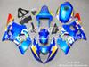 ACE Motorcycle Fairings For SUZUKI GSX-R1000 K3 2003 2004 Compression or Injection Bodywork Blue No.294