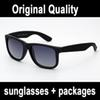 real quality brand sunglasses 4165 justin model polarized lenses man woman with original leather case packages, accessories grey silver box