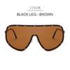 Черная нога - коричневый