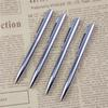 2 Pcs lot Mini Metal Ballpoint Pen Rotating Pocket-size Portable Ball Point Small Oil Exquisite Brief Free Shipping