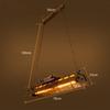 78cm와 에디슨 LED 전구