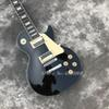 Custom Shop NEW LP Standard 1959 R9 electric guitar, frets binding, Ebony Electric guitar with hard case, Free shipping
