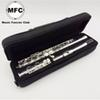 Free Shipping Brand New MFC Flute 16 Hole Closed Silver Plated Musical Instrument
