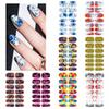 FWC Colorful Nail Art Water Transfer Stickers Nail Tips Decals Beauty Full Cover Wraps Manicure