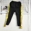 Kids fashion pants design fashion style elastic waist Letter trousers kids clothing good quality free shipping