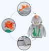 2 to 8 years boys fall 'crocodile' Hoodies, children autumn fashion tops, baby kids & teenager boutique clothing, 2AZB809CT-35, wholesale