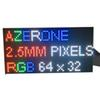 64x32 led matrix 1 16scan Indoor SMD2121 3in1 RGB Full Color 160*80mm P2.5 LED Module for HD Indoor LED Display Screen