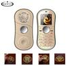 Unlocked cell phones Fingertip gyro Dual card Dual standby mini Portable finger Gyro mobile phone with keyboard