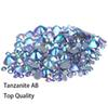 Hot Sale AAA Grade Quality Tanzanite AB Glass Crystals Strass Stones Hotfix Rhinestones For clothing Garment Accessorie