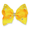 14pcs lot 5 inch Hair Bows for Girls with Clips Kids Hair Accessories Rhinestone Grosgrain Ribbon Hairpins Star Pattern Headwear