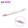 Nail Scrubs Professional Manicure stick Scrubs Stone Nail Cuticle Stick Spoon Cut Manicure pusher 100 180 Stone