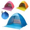 11 Colors Quick Automatic Opening Tents Portable Beach Pop up Camping Tents UV Protection Family Camping Tents Shelter For 2-3 Person