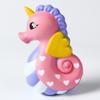 Jumbo Hippocampi Squishy Toys Sea Horse Slow Rising Squeeze Phone Straps Charm Kawaii Kids Toys Stress Reliever