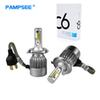 H4 H7 LED Car Headlight C6 H1 H3 Headlamp Light H11 HB3 HB4 9006 9007 H13 6000K 72W 7600LM All In One Car