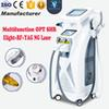 Professional 4 in 1 IPL RF yag laser IPL pianless hair removal skin rejuvenation skin whiten tattoo removal OPT machine for salon